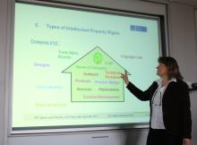 Dr. Martina Venschott gives a review of Intellectual Property Rights